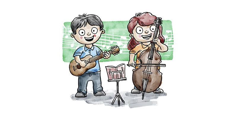 Praticar música na infância pode desenvolver a inteligência
